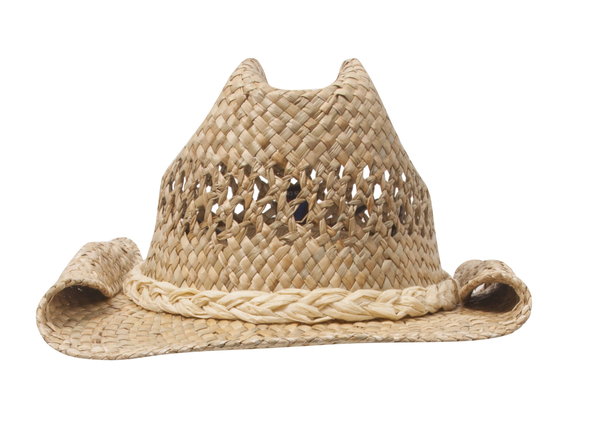 75787b9ecb3e6 Straw Cowboy Hat - Natural Roll 609595166773