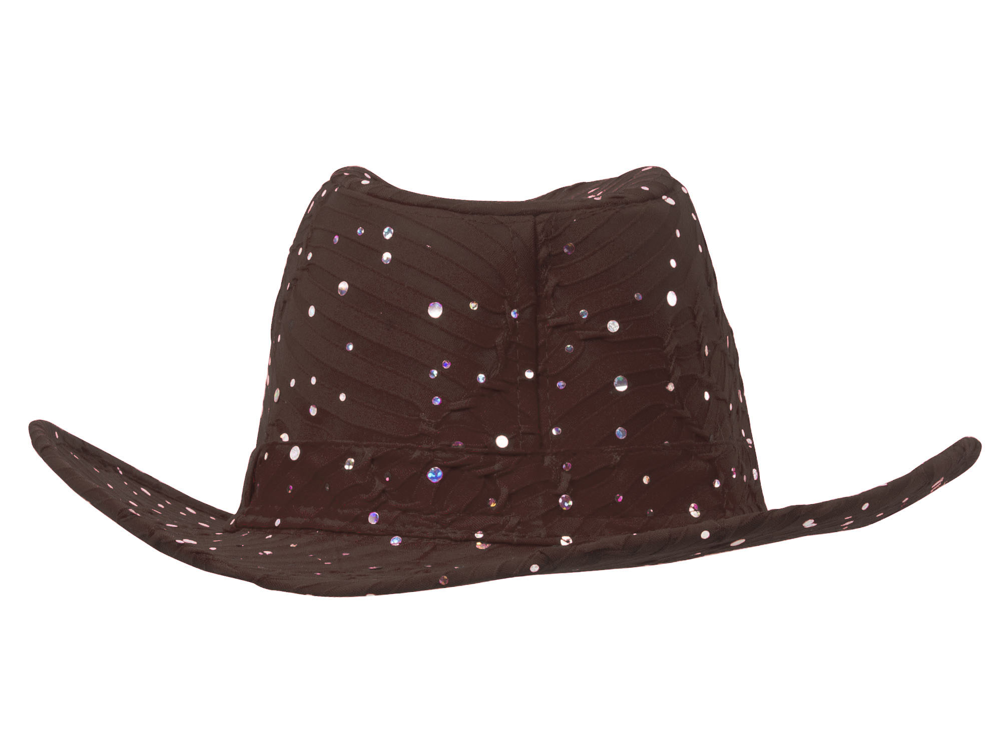 Glitter-Sequin-Trim-Cowboy-Hat thumbnail 11