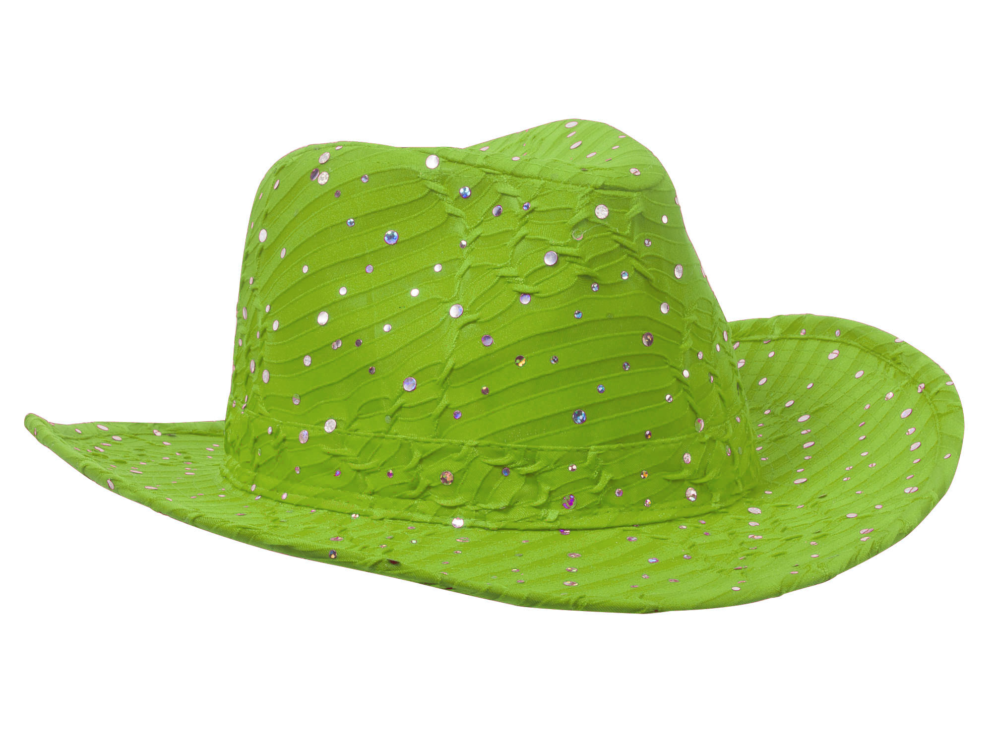 Glitter-Sequin-Trim-Cowboy-Hat thumbnail 17