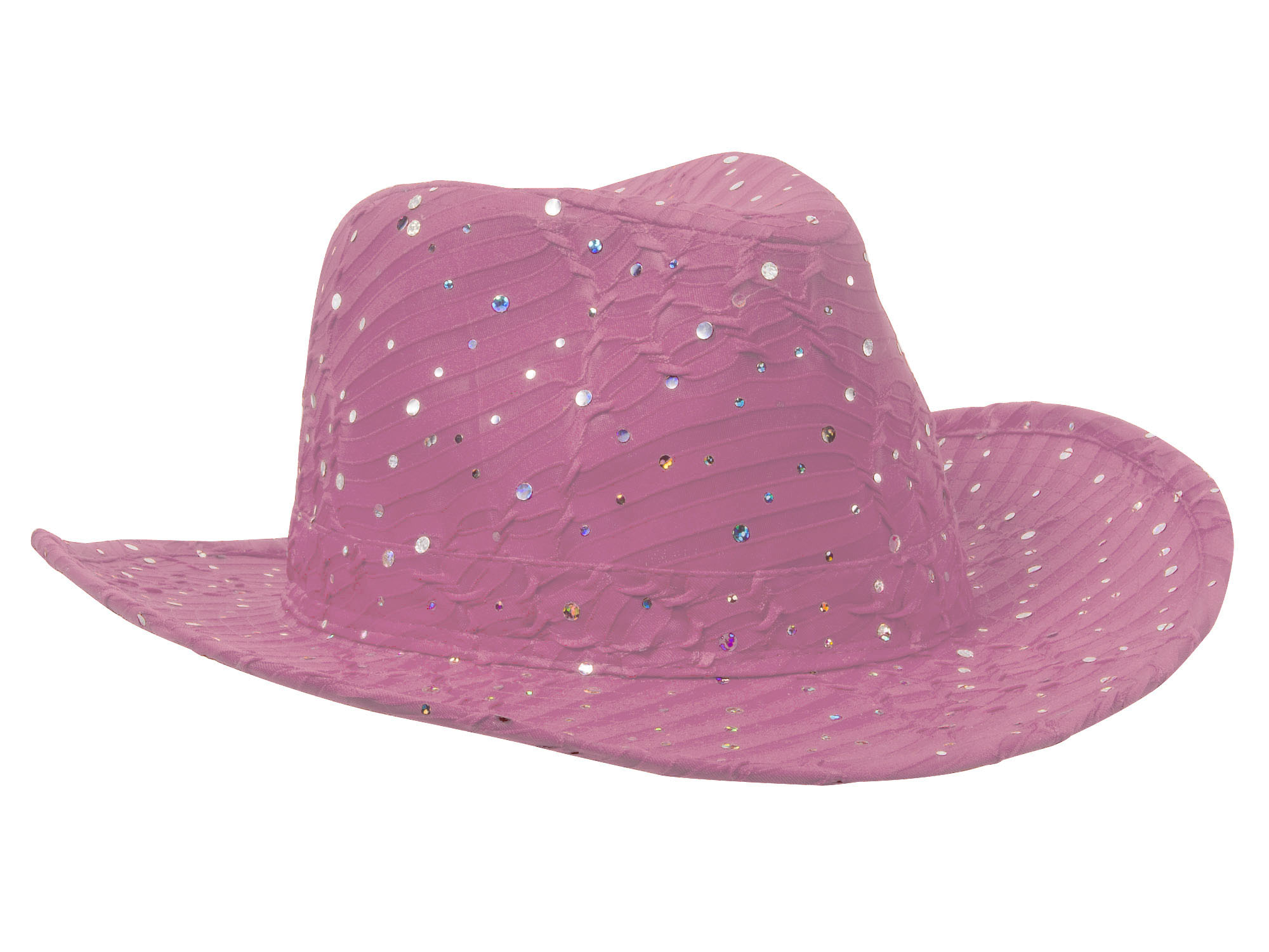 Glitter-Sequin-Trim-Cowboy-Hat thumbnail 13