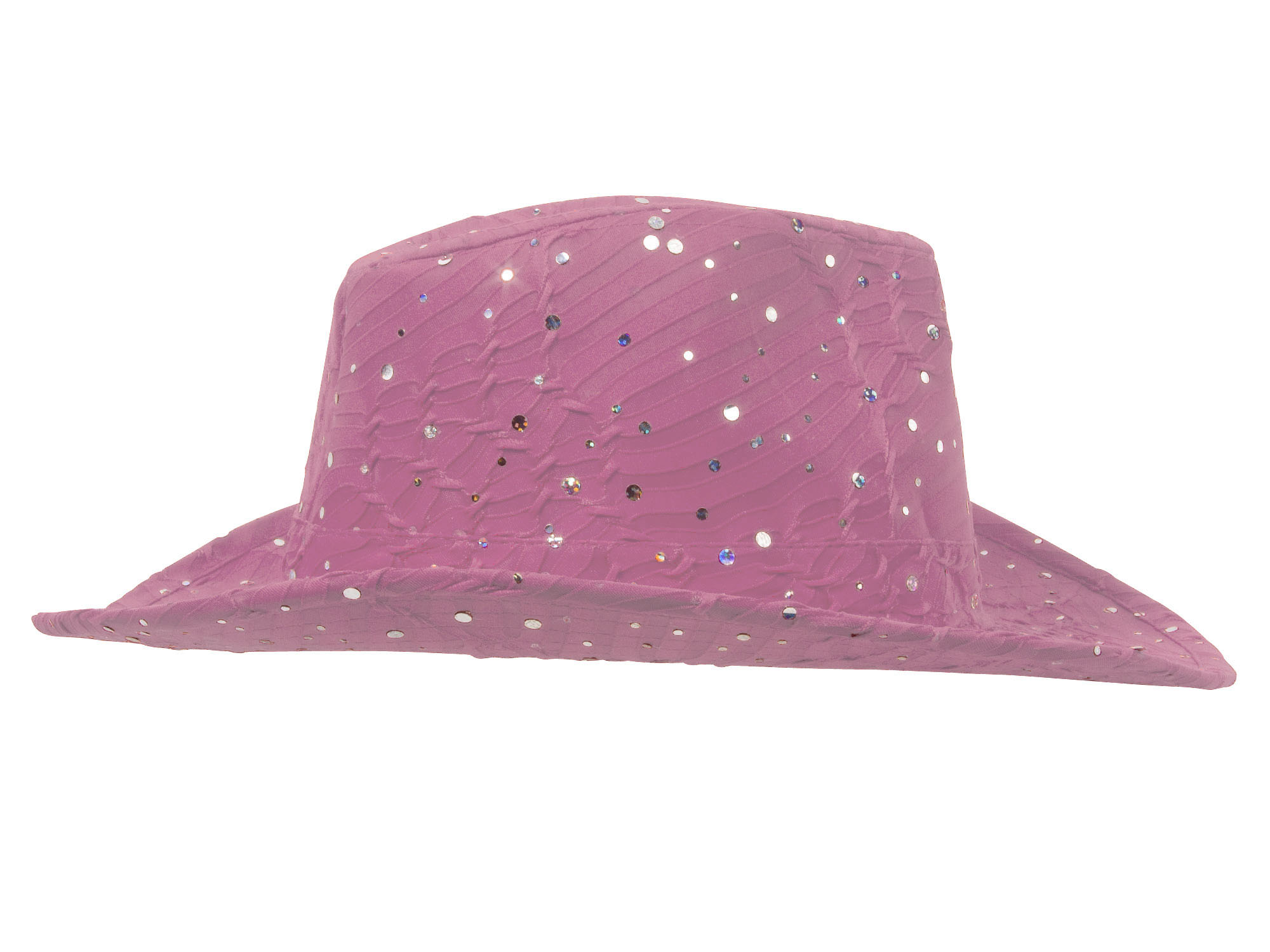 Glitter-Sequin-Trim-Cowboy-Hat thumbnail 14