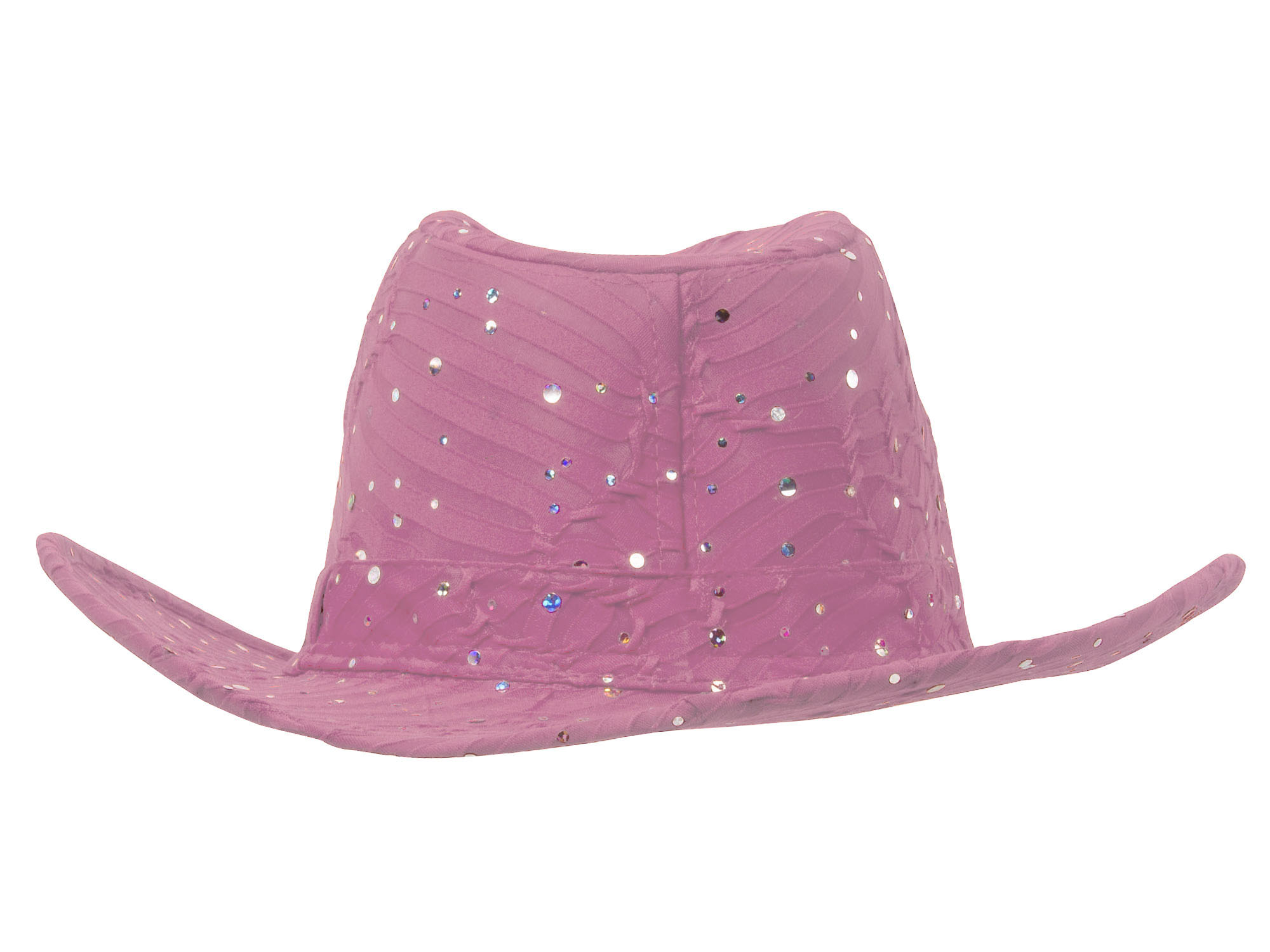 Glitter-Sequin-Trim-Cowboy-Hat thumbnail 15