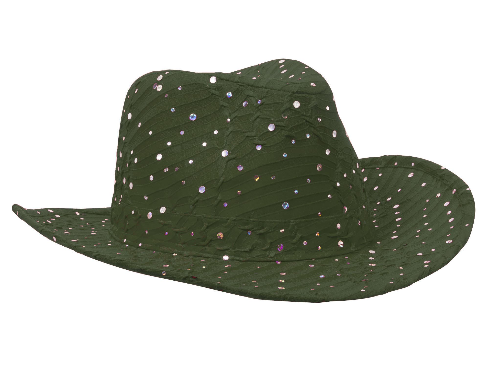 Glitter-Sequin-Trim-Cowboy-Hat thumbnail 29