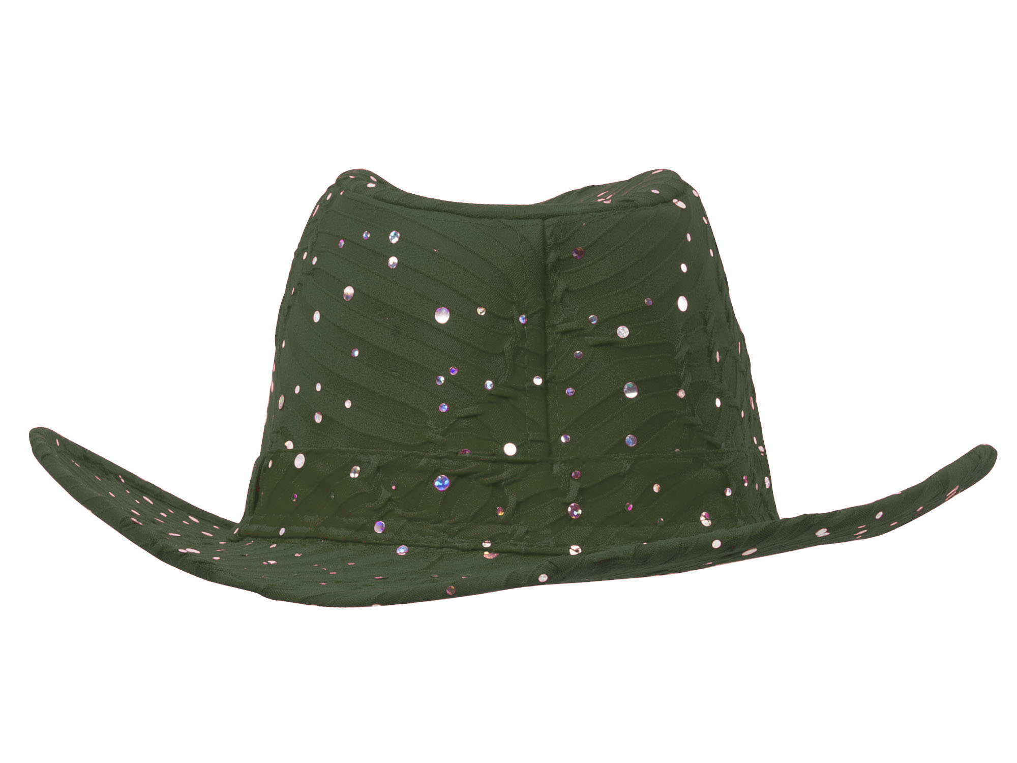 Glitter-Sequin-Trim-Cowboy-Hat thumbnail 31