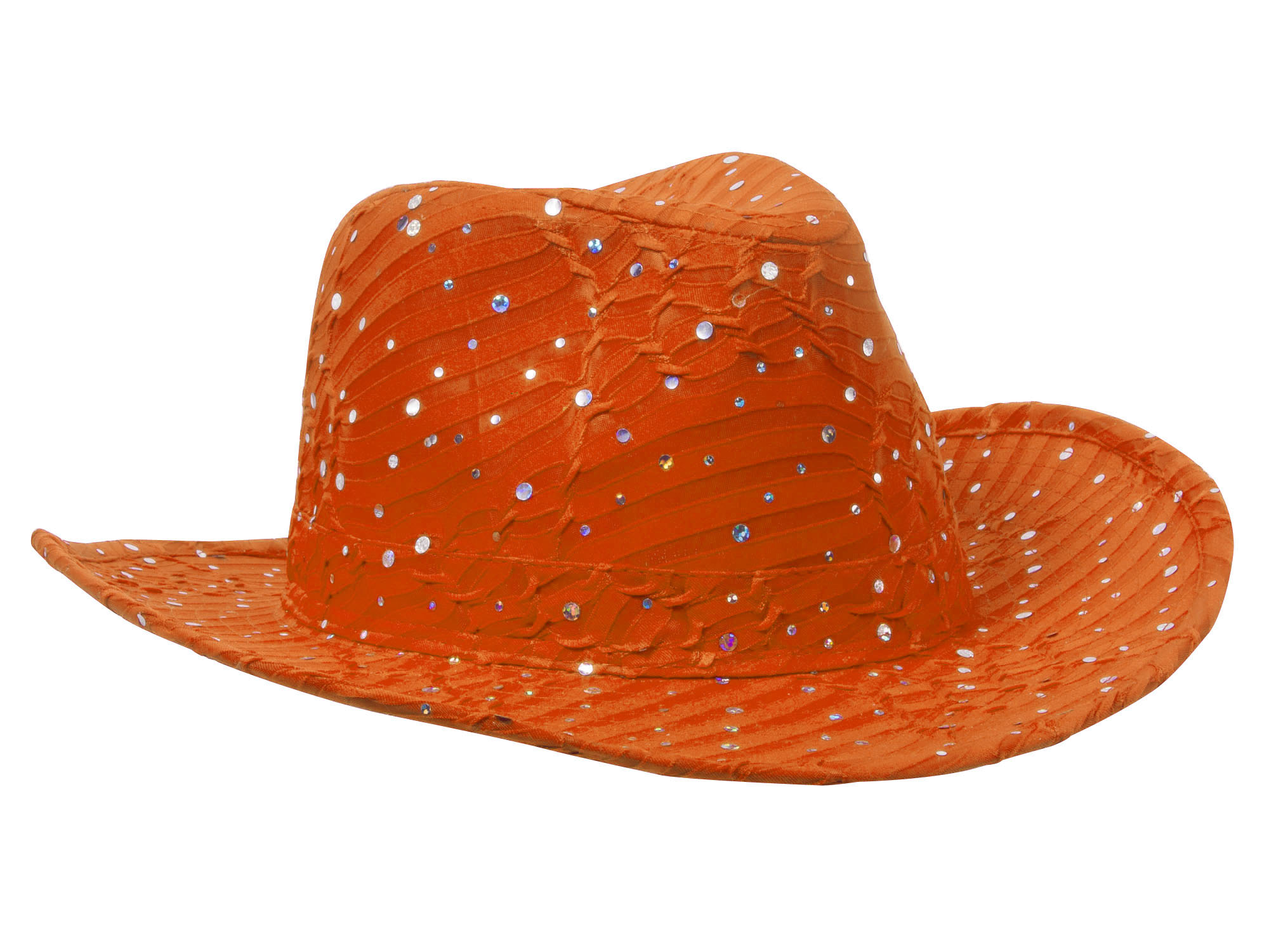 Glitter-Sequin-Trim-Cowboy-Hat thumbnail 33