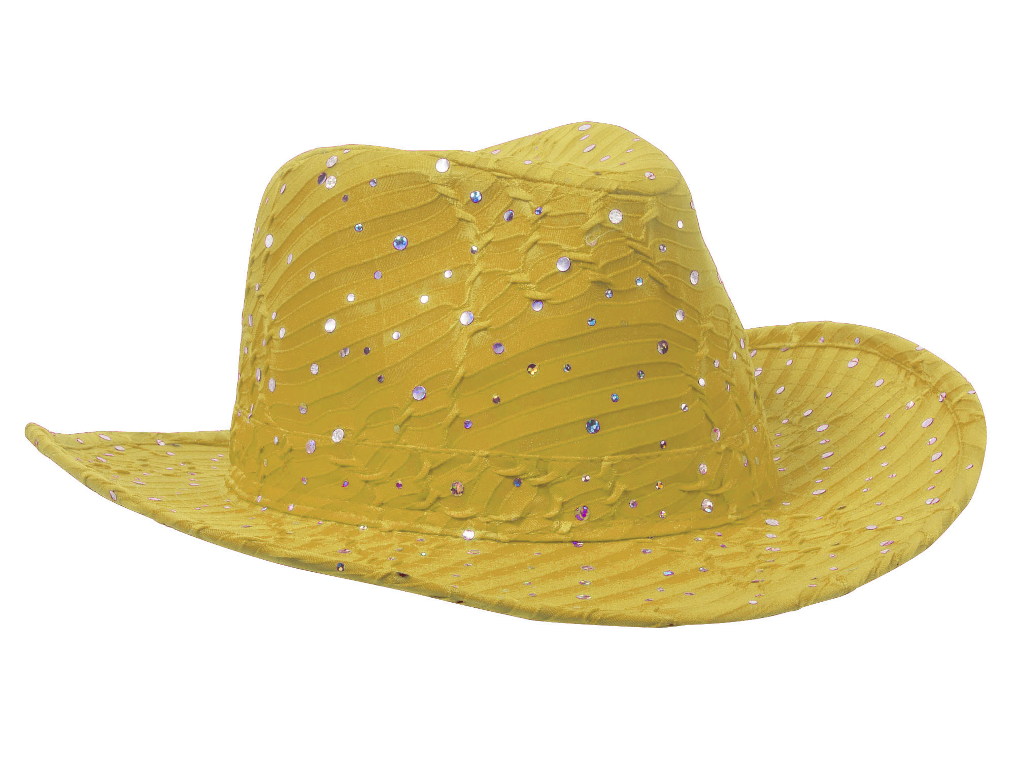 Glitter-Sequin-Trim-Cowboy-Hat thumbnail 37