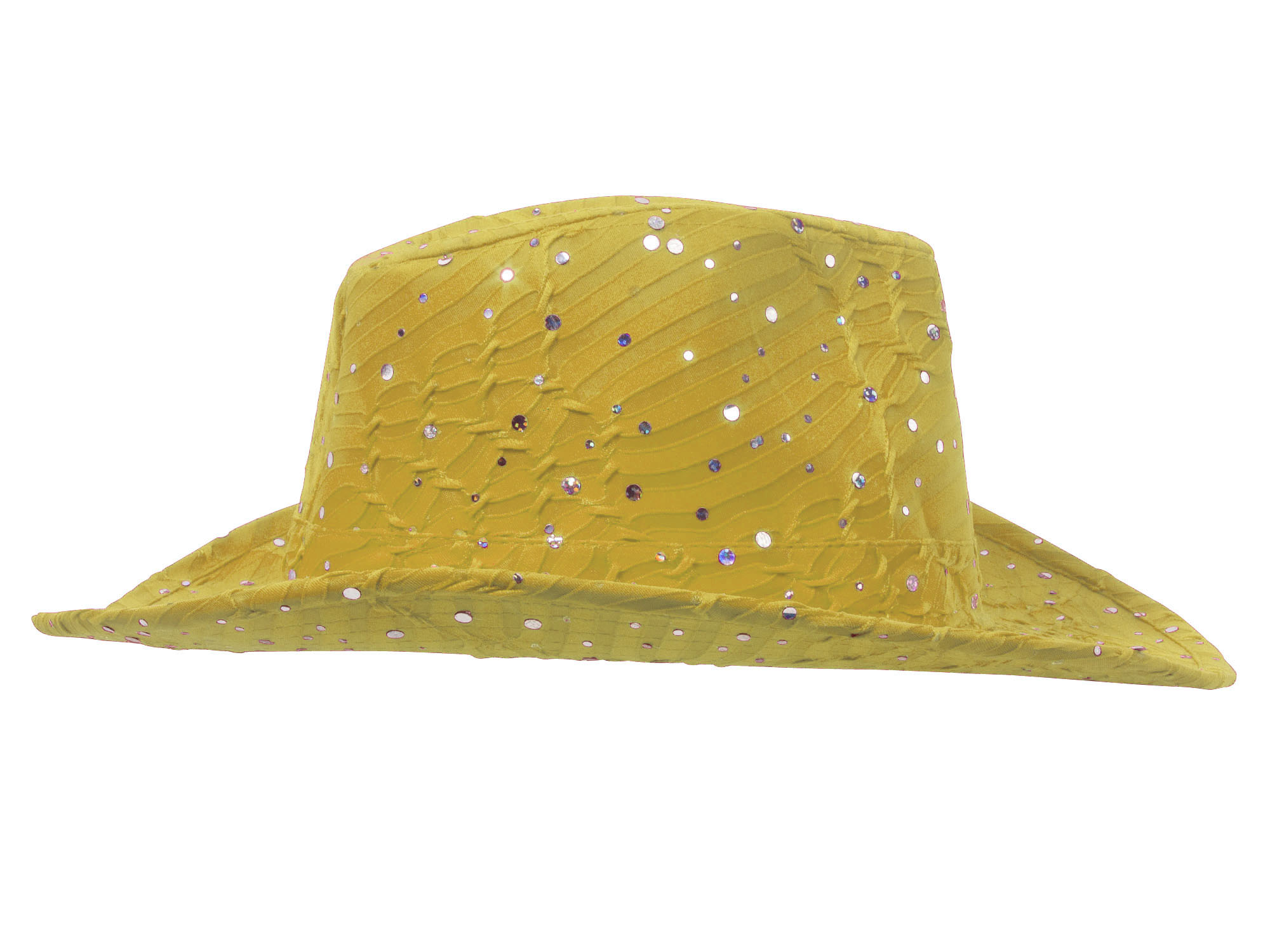 Glitter-Sequin-Trim-Cowboy-Hat thumbnail 38