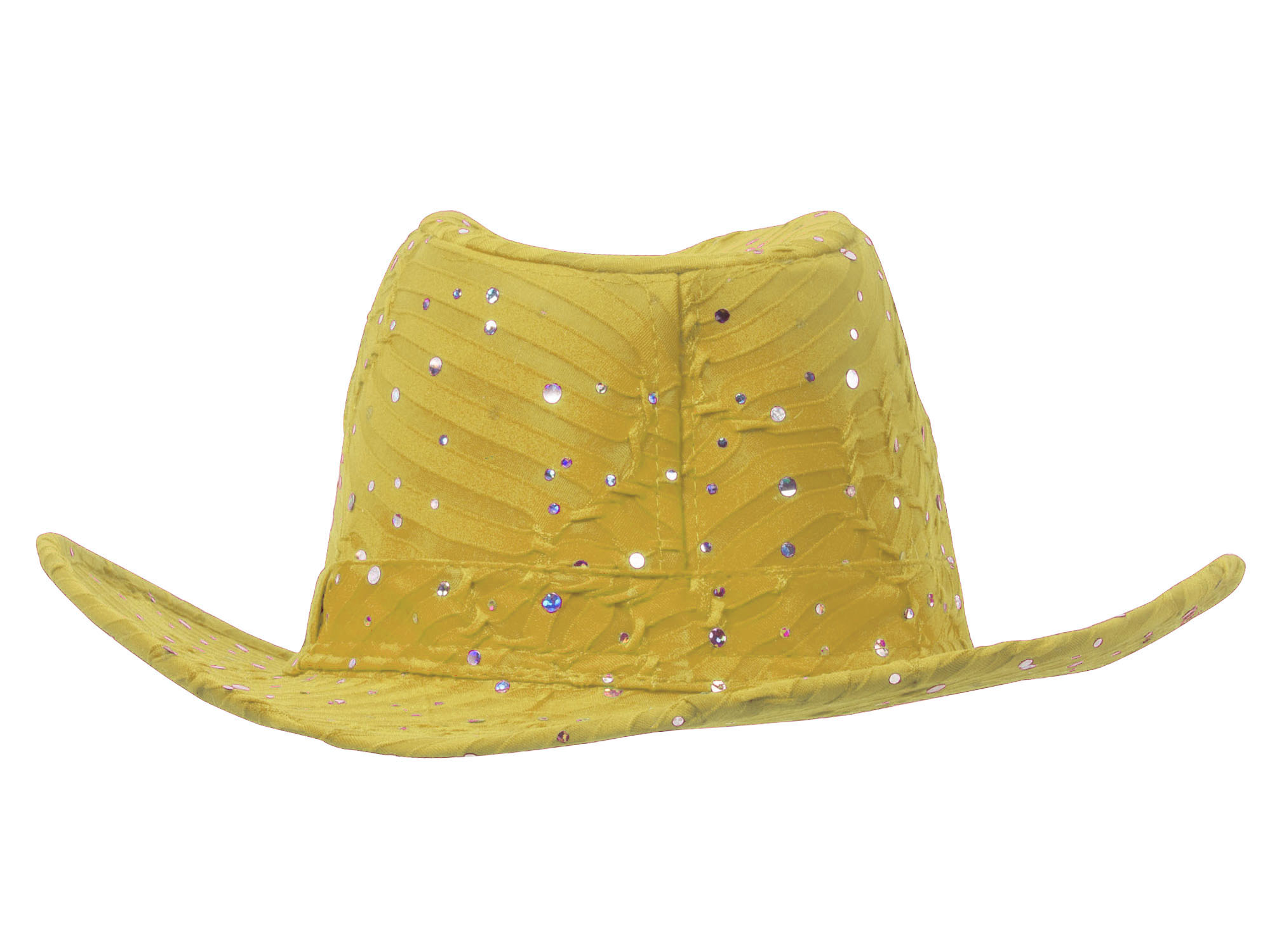 Glitter-Sequin-Trim-Cowboy-Hat thumbnail 39