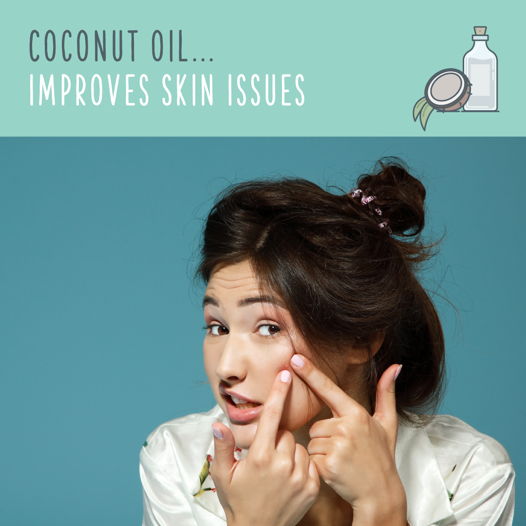 coconut oil uses skin
