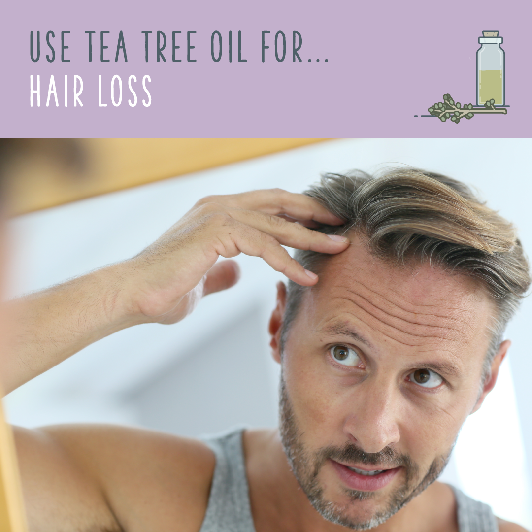 tea tree oil for hair loss