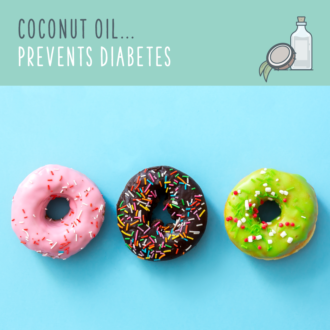 coconut oil uses diabetes