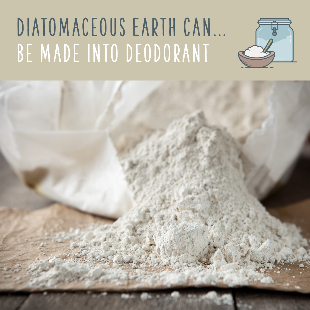 diatomaceous earth deoderant