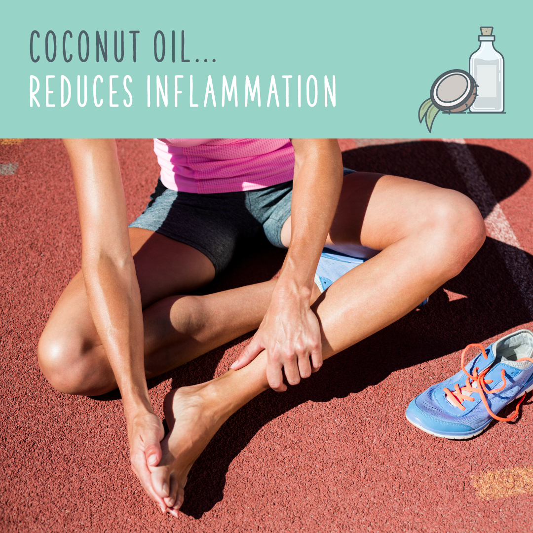 coconut oil uses inflammation