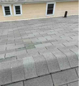 Roof that needs installation