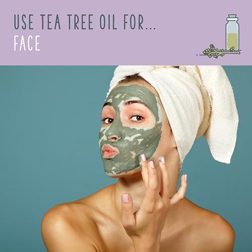 tea tree oil for face