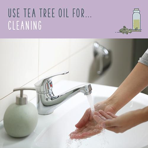 tea tree oil for cleaning
