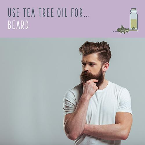 tea tree oil for beards