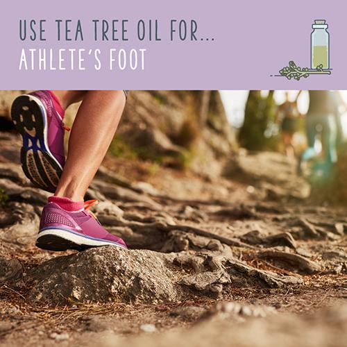 tea tree uses for athlete's foot