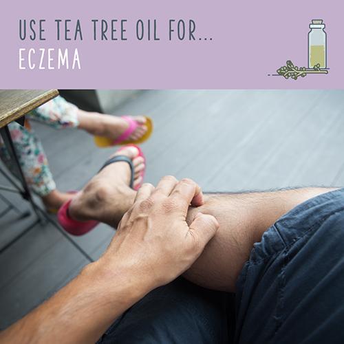 tea tree uses for eczema