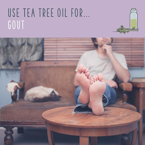 tea tree oil for gout