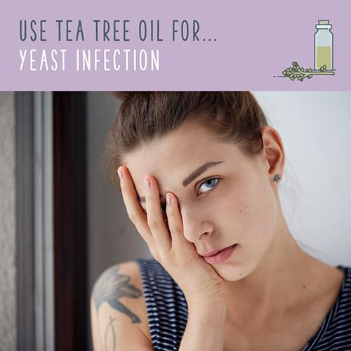 tea tree uses for yeast infection