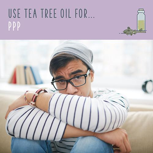 tea tree oil for ppp
