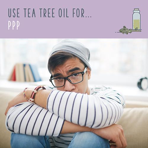 tea tree oil for ppp
