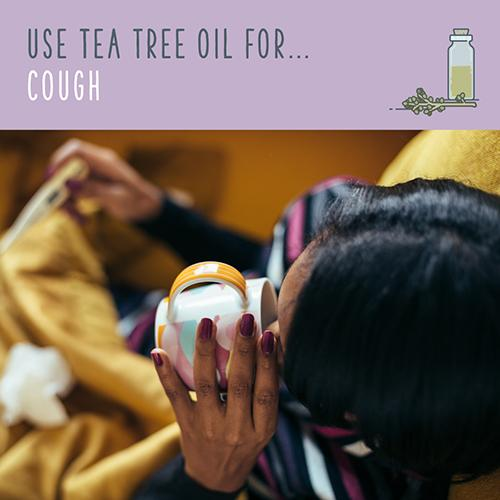 tea tree oil for cough
