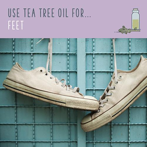 tea tree oil for feet