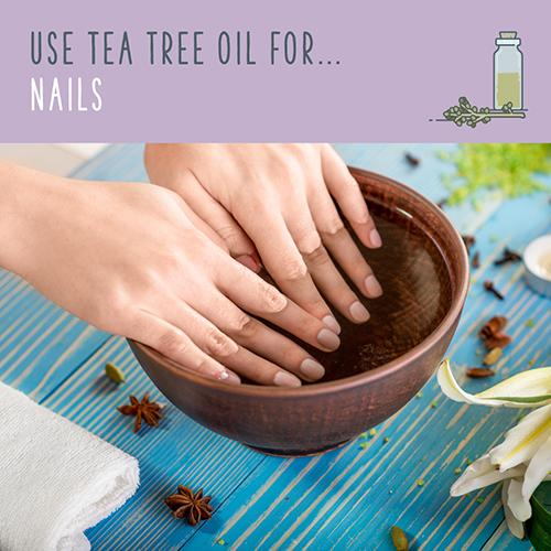 tea tree oil for nails