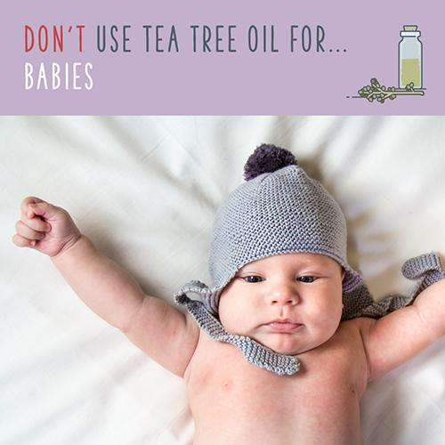 tea tree oil for babies