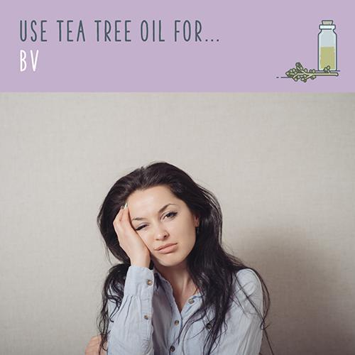 tea tree uses for bv