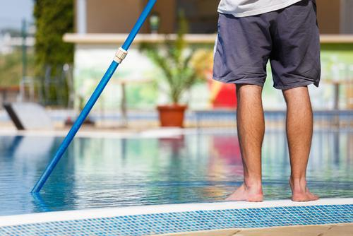 Cleaning pool for landscaping ideas