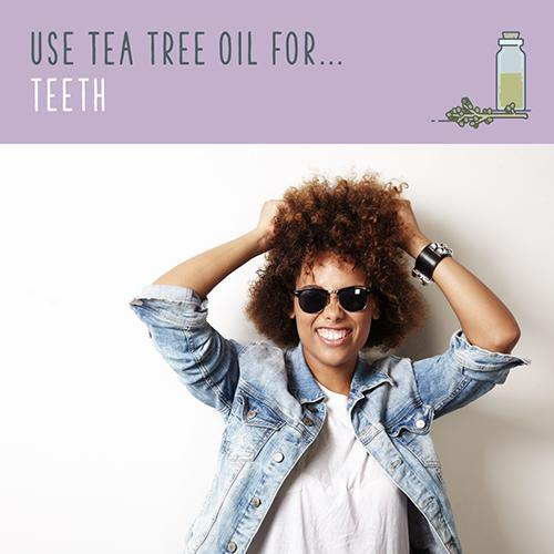 tea tree oil for teeth