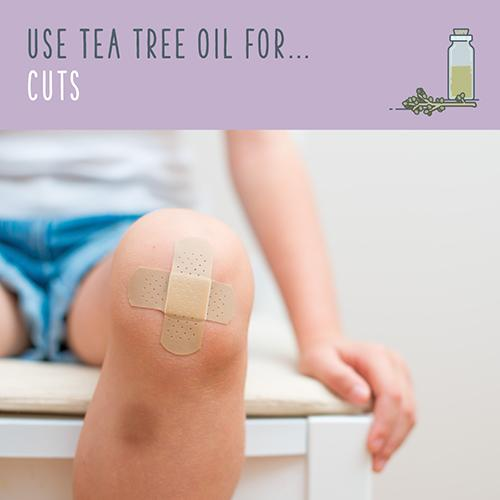 tea tree oil for cuts