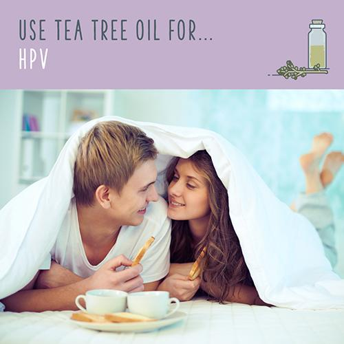 tea tree oil for hpv