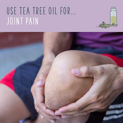 tea tree oil for joint pain