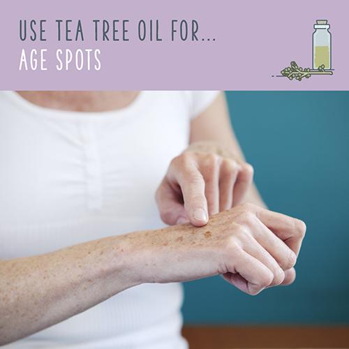tea tree oil for age spots