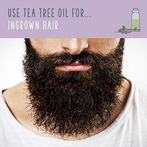 tea tree uses for ingrown hair