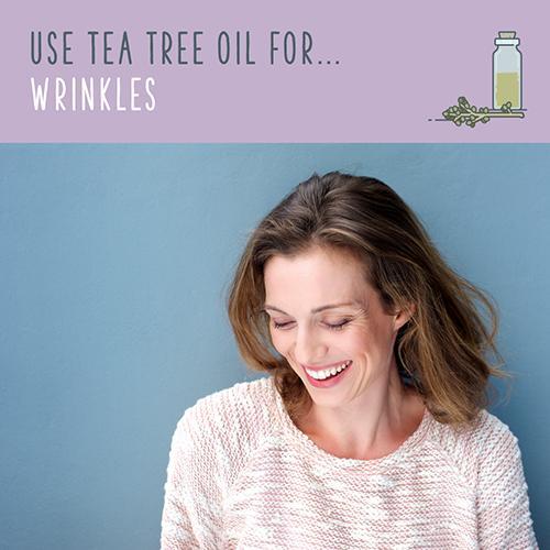 tea tree oil for wrinkles