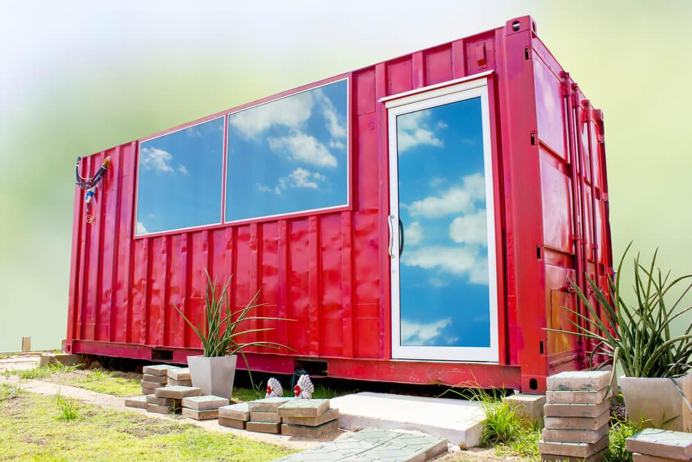 why shipping container homes are an eco living dream. Black Bedroom Furniture Sets. Home Design Ideas