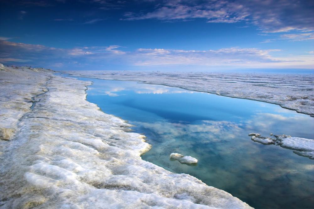 arctic sea near alaska