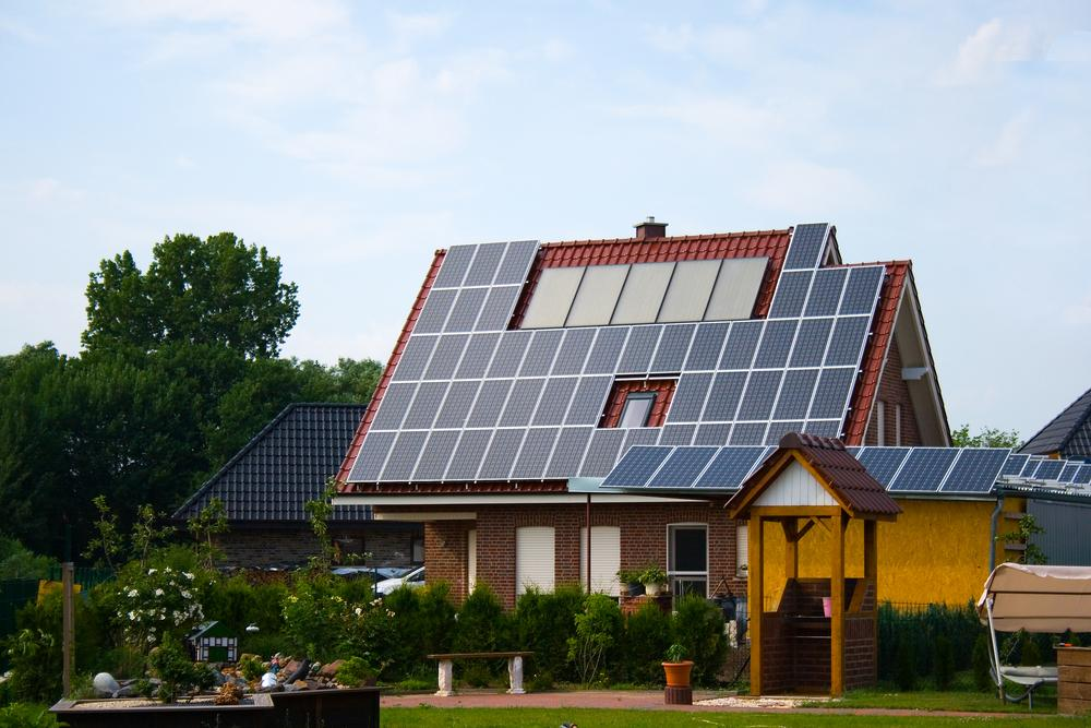 solar panels on a home qualify for solar rebates