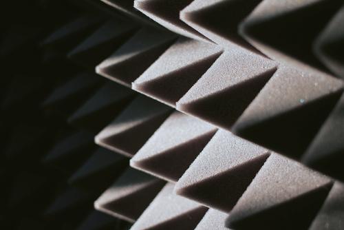 Soundproof wall made of polyurethane foam