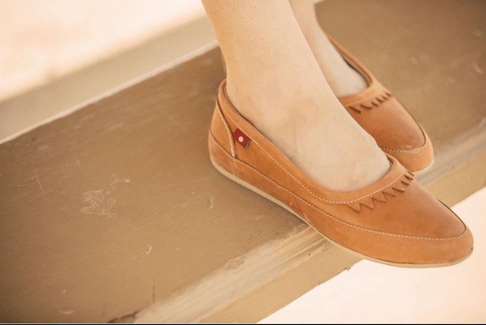 Fair trade shoes by Oliberte