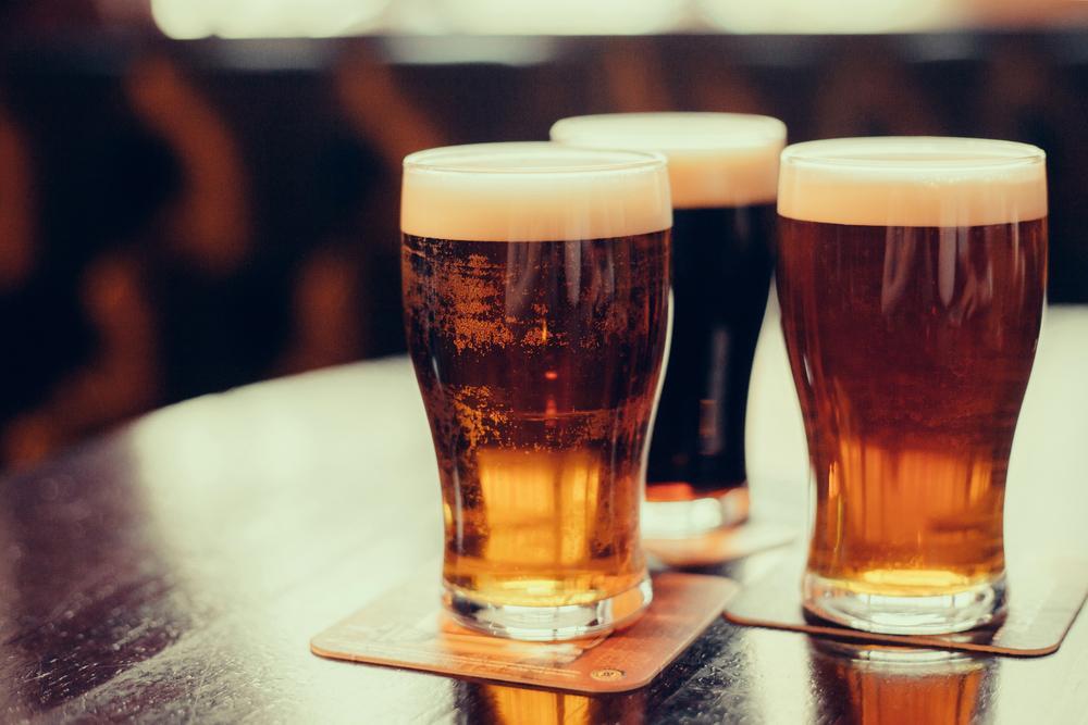 beer as an example of vegan food