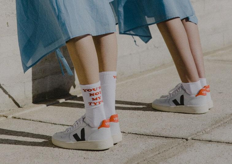 Fair trade shoes by Veja