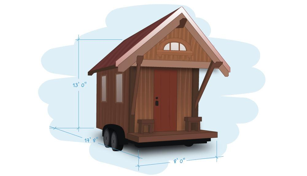 eco friendly tiny house plans