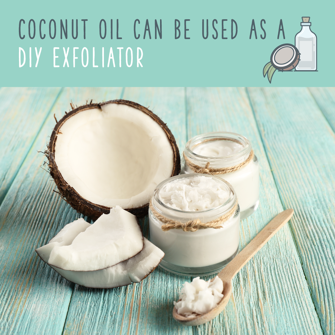 coconut oil exfoliator