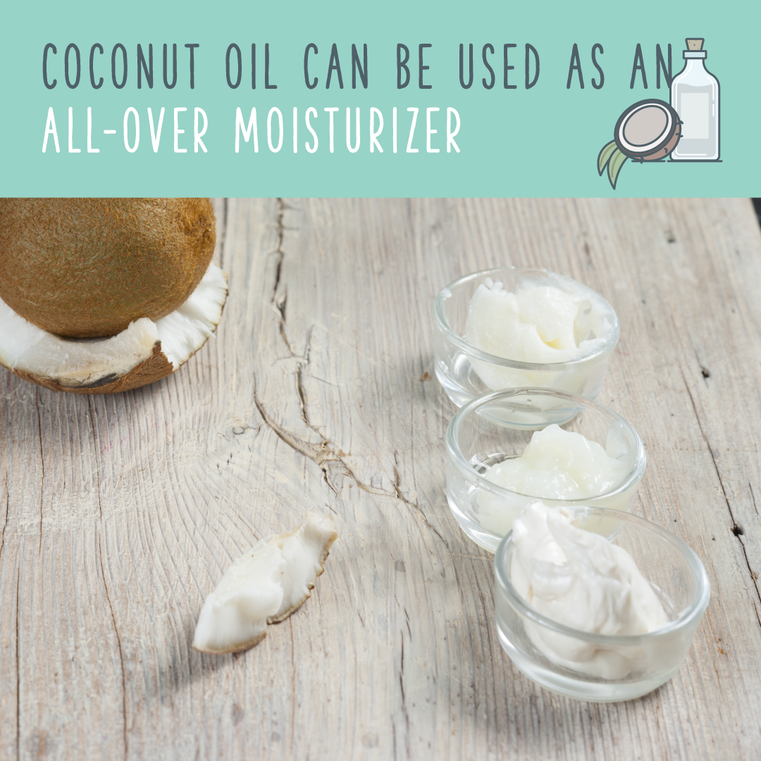 coconut oil moisturizer